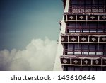 historic home of the dalai lama ... | Shutterstock . vector #143610646