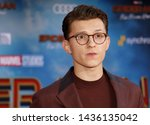 tom holland at the world... | Shutterstock . vector #1436135042