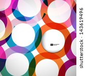 abstract background with vector ... | Shutterstock .eps vector #143619496