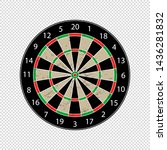 Colorful Dartboard   Textured...