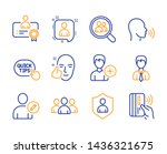 group  healthy face and... | Shutterstock .eps vector #1436321675