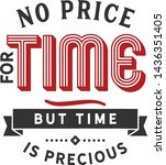 No Price For Time  But Time Is...