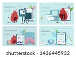 health concept of hypotension...   Shutterstock .eps vector #1436445932