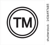 trademark symbol and icon in...