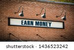 street sign the direction way... | Shutterstock . vector #1436523242