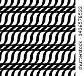 design seamless monochrome grid ... | Shutterstock .eps vector #1436578532