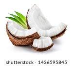 Coconut Slice. Coco Pieces...
