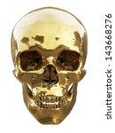 Human Skull Made Of Gold...