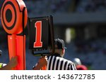 American Football Yard Markers