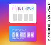 countdown timer instagram...