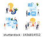 collection of creative business ... | Shutterstock .eps vector #1436814512
