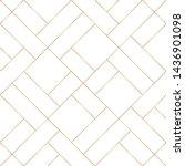 diagonal of random line pattern ... | Shutterstock .eps vector #1436901098