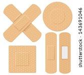 Illustration Of Medical Bandag...