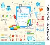illustration of equipment and... | Shutterstock .eps vector #143691052