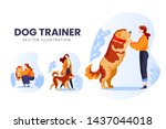 Isolated Dog Lover Trainer...
