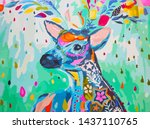 Whitetail Deer Wildlife...