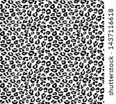new modern leopard pattern... | Shutterstock . vector #1437116618