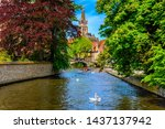 View Of Canal In The Historic...