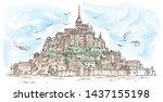 Le Mont Saint Michel  France....