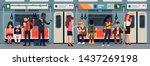 public transport vector concept ... | Shutterstock .eps vector #1437269198