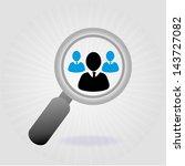 leader design over gray... | Shutterstock .eps vector #143727082