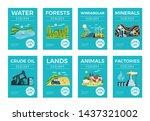 natural environmental resources ... | Shutterstock .eps vector #1437321002