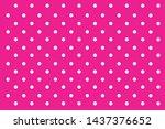 Pink Hot Pink Polka Dots...