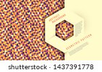 abstract background design with ... | Shutterstock .eps vector #1437391778