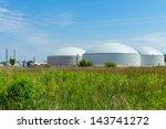 biogas plant | Shutterstock . vector #143741272