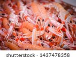 Fresh Seafood Within The Fish...
