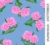 watercolor seamless pattern...   Shutterstock . vector #1437558815