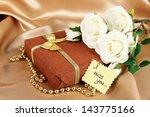 Romantic Parcel On Gold Cloth...