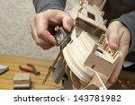 Ship Model Building In Progress