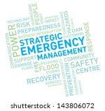 emergency management | Shutterstock .eps vector #143806072