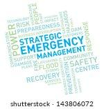 emergency management | Shutterstock .eps vector #143806072