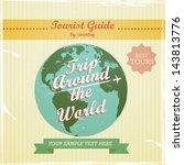 vintage design   travel guide... | Shutterstock .eps vector #143813776