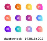 super set arrow bullet point... | Shutterstock .eps vector #1438186202