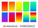 rainbow color palette gradient...
