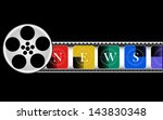media  electronic news  | Shutterstock . vector #143830348