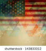 abstract style american...   Shutterstock .eps vector #143833312