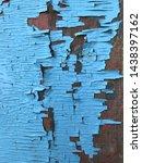 vintage background. wooden...   Shutterstock . vector #1438397162