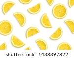 Lemon Slices As Pattern...