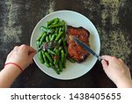 Green Pea Pods With Chili...