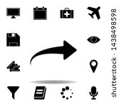 computer monitor icon. signs...