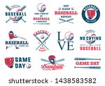set of 11 engraved style...   Shutterstock . vector #1438583582