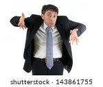 Expressive Businessman...