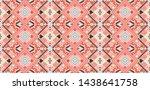 tribal vector ornament.... | Shutterstock .eps vector #1438641758