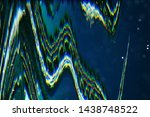 futuristic glitch background.... | Shutterstock . vector #1438748522