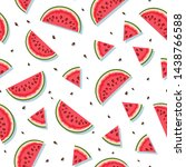 vector seamless pattern with... | Shutterstock .eps vector #1438766588