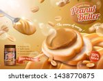 Peanut Butter Spread Ads With...